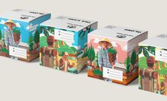 Cau Dat Farm on Packaging of the World - Creative Package Design Gallery
