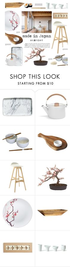 """Untitled #353"" by zitanagy ❤ liked on Polyvore featuring interior, interiors, interior design, home, home decor, interior decorating, H&M, Portmeirion, Dot & Bo and Nearly Natural"