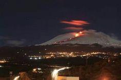 Fantastic eruption on Etna