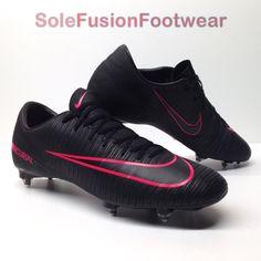 4da354eaf7d Nike mens Mercurial Victory VI Football Boots Black sz 10 Soccer Cleats US  11 45