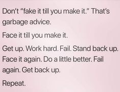 I feel like this is good advice: Be the genuine you, not a fake someone else. Be yourself, and everything else will fall into place. Quotes To Live By, Me Quotes, Motivational Quotes, Inspirational Quotes, Young Quotes, Girly Quotes, Funny Quotes, Positive Vibes, Positive Quotes