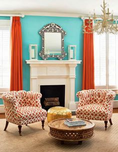 Just Published: In Living Color with Peachy Magazine   The English Room