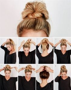 Check out our collection of easy hairstyles step by step diy. You will get hairs. Check out our collection of easy hairstyles step by step diy. You will get hairstyles step by step tutorials, easy hairstyles quick lazy girl hair hac. Easy Work Hairstyles, Trendy Hairstyles, Beautiful Hairstyles, Nurse Hairstyles, Cute Bun Hairstyles, Easy Everyday Hairstyles, Simple Hairstyles For School, Hair Ideas For School, Lazy Girl Hairstyles