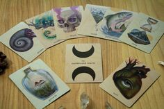 the earthbound oracle deck IN STOCK by skullgardenshop on Etsy