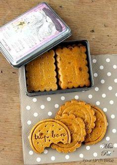 Biscuits bébé sans gluten {RECETTE}