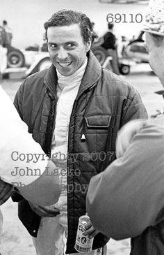 JIM CLARK DROVE IN THE REX MAYS 300 1967 RIVERSIDE DNF