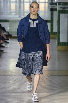 White Mountaineering Spring 2018 Menswear Fashion Show Collection