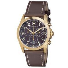 Victorinox Victorinox Swiss Army 241647 Infantry Chronograph Men's Leather Watch
