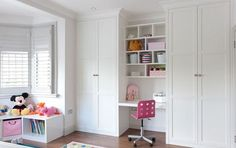 sweet magnet bedrooms wardrobes. Floor to ceiling fitted wardrobes with desk area in white satin lacquer  Dressing Table Mirrors Our Pick of the Best Fitted