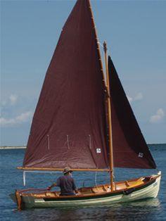 Penobscot 17, slloop rig
