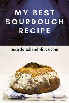 An easy recipe for sourdough bread. Learn how to bake bread with lots of taste and superior texture. A suiteable recipe for beginners. Sourdough Recipes, Sourdough Bread, Bread Recipes, Baking Recipes, Recipes For Beginners, Bread Baking, All You Need Is, Baked Potato, Food To Make