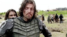 I imagine this is what they are like in the Garrison --- Athos goes from worried to withering in about .9 of a second