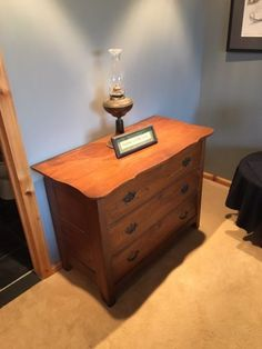 all prices firm antique dresser (needs love) $90 maple top table. $100 green…