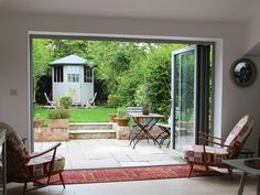 Aluminium Bi-fold Doors from Livingwood Windows Ltd