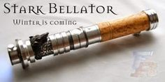Stark Bellator lightsaber 04 by ForceRelics