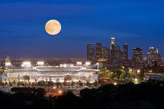 Los Angeles Dodgers Stadium & Downtown LA