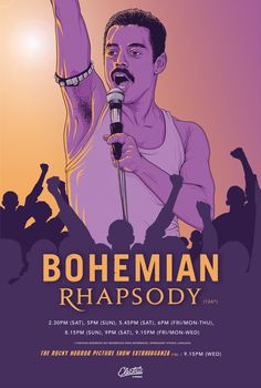 Bohemian Rhapsody Alternative movie poster for Bohemian Rhapsody. can find Movie posters and more on our website. Minimal Movie Posters, Cinema Posters, Film Posters, Classic Movie Posters, Movie Poster Art, Poster S, Poster Wall, Poster Minimalista, Queen Poster