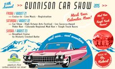 Hope to see you there! #gunnisoncarshow