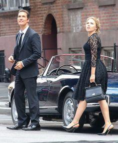 スカーレット・ヨハンソンとマシュー・マコノヒー、ドルチェ&ガッバーナのコマーシャル撮影に登場   ゴシップノート