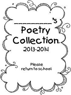 Poetry Packet {97 Page Freebie}