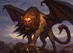 Beast - The Manticore
