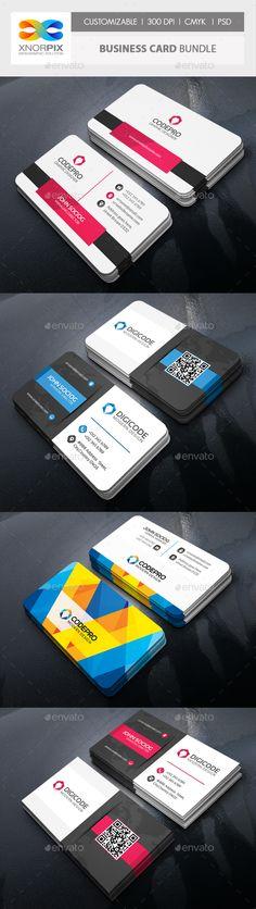 Business Card Bundle 3 in 1-Vol 66