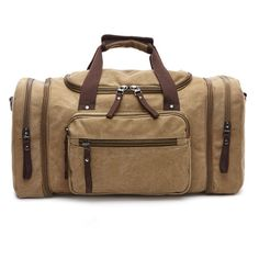 Globetrotter - Canvas Carry-on Luggage (Multiple Colors). Weekender ToteDuffel  BagsDuffle Bag TravelMens ... 7084b3bada