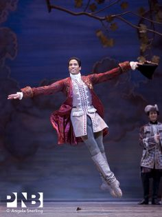PNB principal dancer Karel Cruz in The Sleeping Beauty.