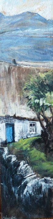 Irlande / jfgelot-balades-en-peintures.net, huile sur bois