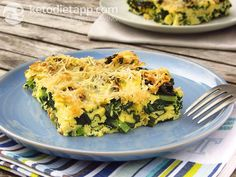 Nutrition facts for Frittata cavolo nero. One of the many delicious recipes included in the KetoDiet apps.