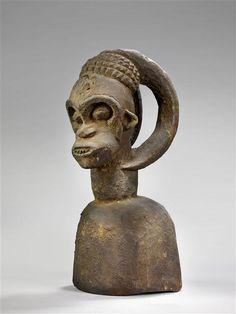 Bangwa Ngkpwé Headdress, Cameroon Headdress, Art Museum, Musée National, Statue, Arts, Collection, Africa, Stone, Psychics
