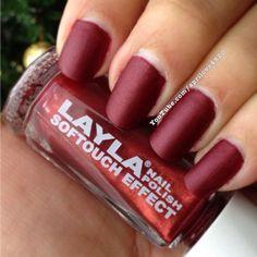 Layla nail polish swatch