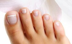 Perfect Pedicure Cut ♥ clean toes ♥ Healthy beautiful toes ♥ summer nail ♥ french pedicure nails