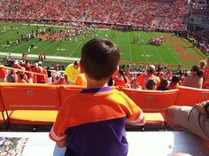 What a beautiful South Carolina day for an exciting CLEMSONTIGER win!