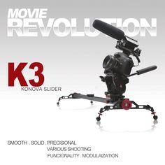 Amazon.co.jp: KONOVA Camera Slider コノバ カメラ スライダー K3 60 cm: カメラ・ビデオ