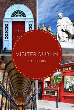 Visiter Dublin en 3 jours : mon itinéraire découverte #dublin #irlande #cityrip Voyage Dublin, Voyage Europe, Week End En Europe, Road Trip Europe, Ireland Places To Visit, Weekend France, Ireland With Kids, Buses And Trains, Train Tour