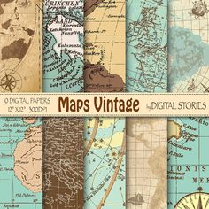 Vintage maps digital paper old sea maps with vintage or antique vintage maps digital paper old sea maps with vintage or antique sea maps nautical maps vintage maps backgrounds vintage maps free printables and gumiabroncs Image collections