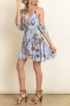 dress forum Blue Flower Dress