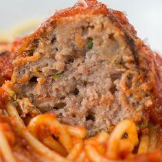 awesome Helathy and delecious (via: Tasty Junior)Hidden Veggie Meatballs   FULL RECIPE: