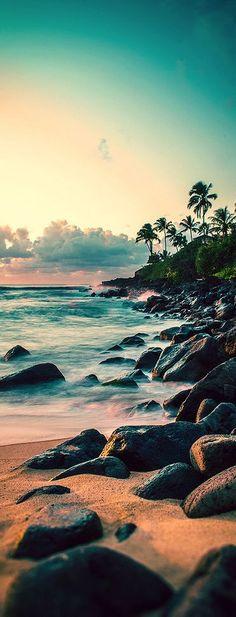 Waimea Bay, Oahu, Hawaii. Can you hear the waters calling?