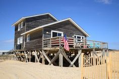 This affordable oceanfront in Nags Head comes with a solid rental history and well-maintained interior. MLS #88719