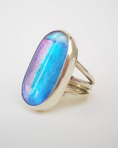 Light Blue Ring - for @Lisa Phillips-Barton Phillips-Barton Allen - new ring design?