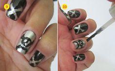 Mine!!! -> Passo a passo: nail art com caveira! - Clube do Esmalte - CAPRICHO
