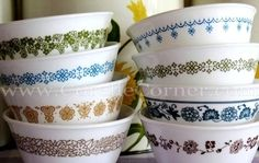 Welcome to Corelle Corner!Very Useful web page for Corelle Ware and Corning Ware Collectors! Vintage Dinnerware, Vintage Kitchenware, Vintage Dishes, Vintage Glassware, Vintage Items, Vintage Pyrex, Vintage Table, Correlle Dishes, Corelle Ware