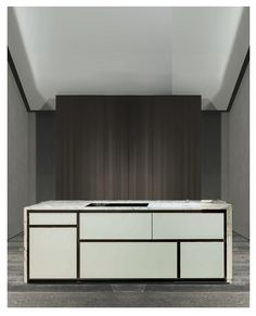 project of an #minimalist #kitchen . #minimal