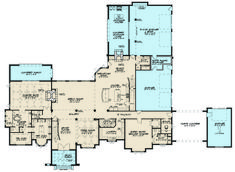 Find your dream european style house plan such as Plan which is a 7519 sq ft, 5 bed, 6 bath home with 5 garage stalls from Monster House Plans. French Country House Plans, European House Plans, Duplex House Plans, Dream House Plans, Craftsman Exterior, Monster House Plans, Family House Plans, Two Story Homes, Model Homes