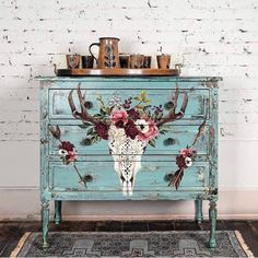 Beautifully Native transfer by Redesign with Prima. x Order, shipping ETA Decoupage Furniture, Furniture Wax, Funky Furniture, Refurbished Furniture, Repurposed Furniture, Furniture Makeover, Painting On Furniture, Luxury Furniture, Antique Furniture