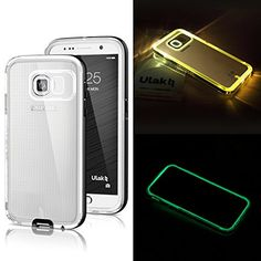 Galaxy S6 Case, ULAK [Lumenair Series] LED Case Samsung Galaxy S6 Incoming Call Flash Slim Fit Dual Layer Bumper Protective Cover (Black/Grey) ULAK http://www.amazon.com/dp/B00T2DPA3I Like us on facebook: https://www.facebook.com/ULAK.Case