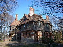 The Harriet Beecher Stowe House in Hartfield, Conneticut