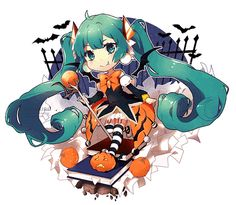 hatsune miku halloween - Google Search